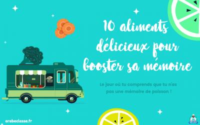 10 aliments délicieux pour mémoriser le vocabulaire arabe et doper tes capacités